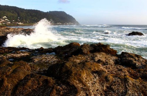 Yachats, Where the Wild Oregon Coast Waves Are