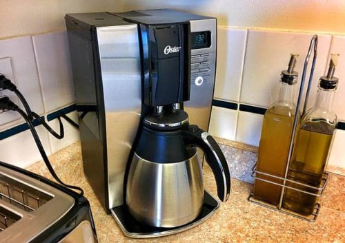 How to clean your stainless steel coffee pot