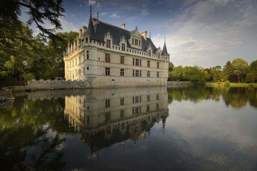 Le château d'Azay-le-Rideau, bijou du Val-de-Loire