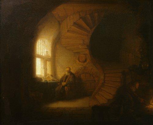 Descendre en haut, avec Rembrandt
