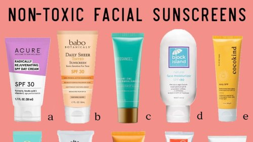 The 10 Best Non-Toxic Facial Sunscreens