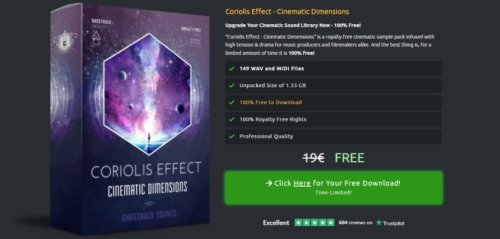 Coriolis Effect Is A FREE 1GB+ SFX Sound Library By Ghosthack