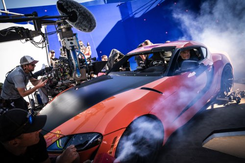 How the 'F9' filmmakers used camera arrays and bluescreen shoots to make fast action - befores & afters