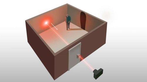 Un laser à travers un trou de serrure suffit pour cartographier une pièce