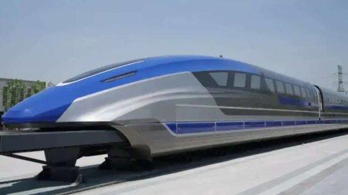 Le train le plus rapide du monde fait ses débuts en Chine