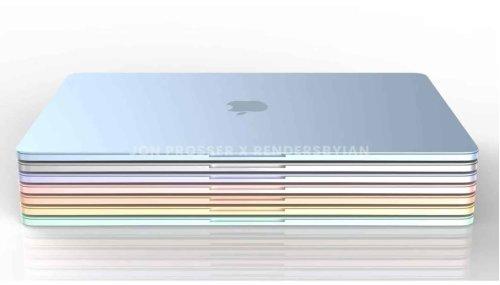 Apple a prévu une tonne de redesign de produits pour 2022