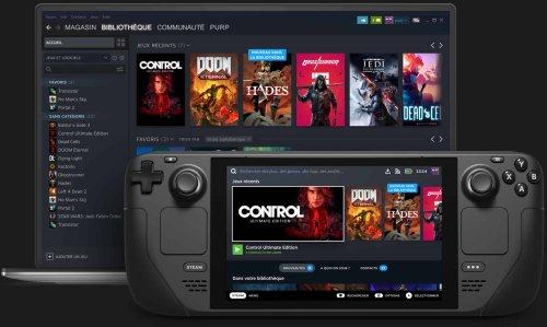 Steam Deck : le PC gaming de Valve au format console portable