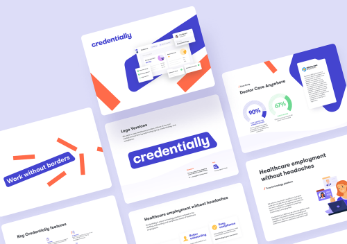 Credentially: Brand Identity and Website Design