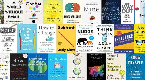 Behavioral Scientist's Summer Book List 2021
