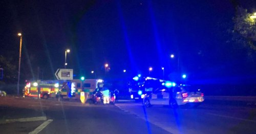 Traffic diverted near Belfast City Airport after crash on major by-pass