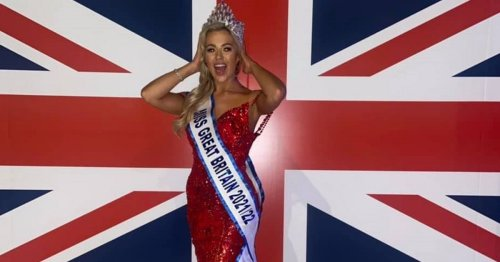 Belfast beauty pageant star Eden McAllister crowned Miss Great Britain