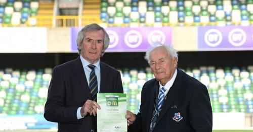 People's Award at McDonald's Irish FA Grassroots Football Awards