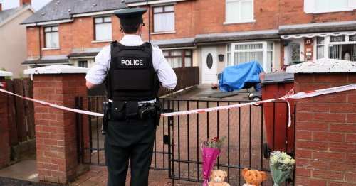 Father of baby killed in Ardoyne thanks community for support at vigil