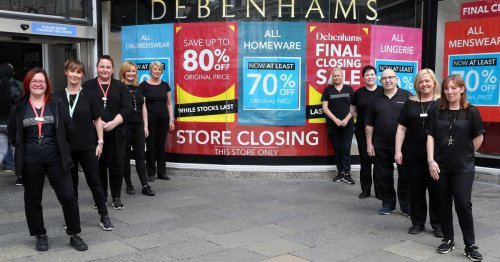 Debenhams Belfast staff reminisce as decades together in 'a big family' end
