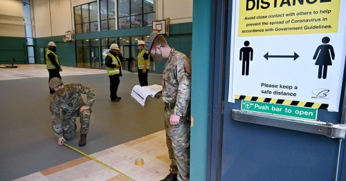 Army to support Northern Ireland hospitals in the coming days