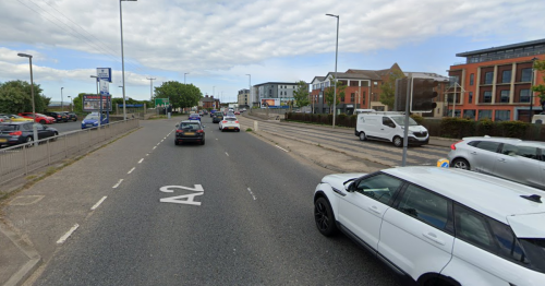 Female pedestrian suffers serious injuries in crash involving Range Rover