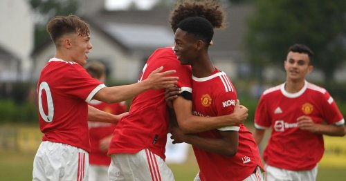 Manchester United win opening game of Northern Ireland tour
