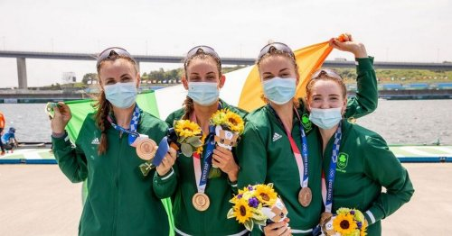 Irish women rowers win Bronze as boxer Kurt Walker beats world champion