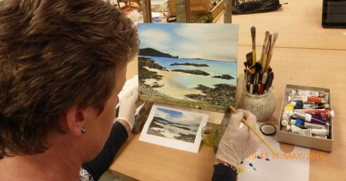 New art courses bringing people together in Derry's Eden Arts Centre