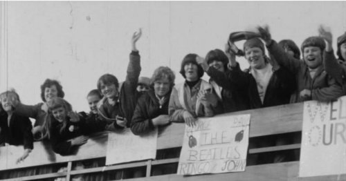 WATCH: Belfast goes wild for The Rolling Stones and Beatles in 1960s