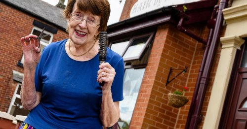 NI hairdresser says she's no plans to retire - after 65 years in salon