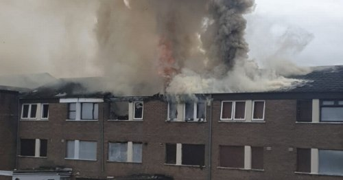 Live updates as emergency services tackle blaze in Belfast