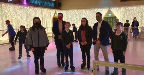 Share Discovery Village ice skating rink opens to public