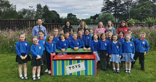 NI park launches 'Little Free Toybox' to help kids reconnect after lockdown