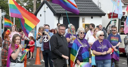 All smiles at weekend Pride parade in Cookstown