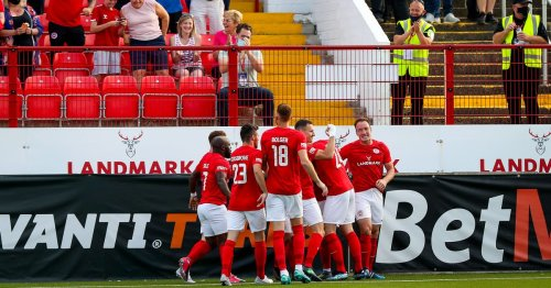 Larne boss Lynch hails win over AGF Aarhus as 'proudest moment'