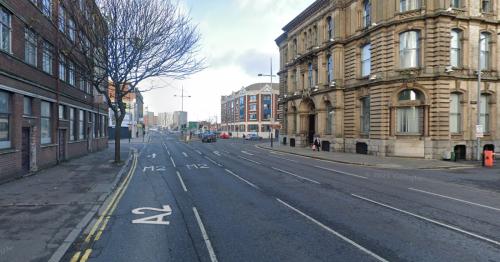 Man taken to hospital following Belfast city centre assault