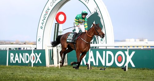 Rachael Blackmore makes National history with Minella Times