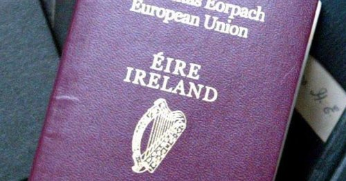 Guinness played a crucial role in reversing the harp on Irish passports