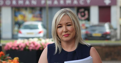 Majority of Covid inpatients younger with no jabs says Michelle O'Neill