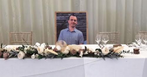 Best man from Belfast attends wedding in a photo frame after Covid alert