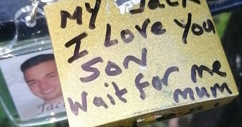Families remember loved ones with special padlock tributes in West Belfast
