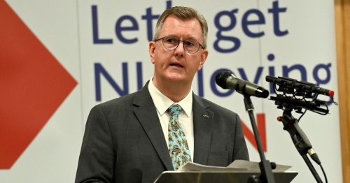 Jeffrey Donaldson encourages DUP reps to support vaccine roll-out