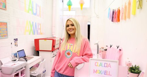 West Belfast woman uses creative spark to launch her own business