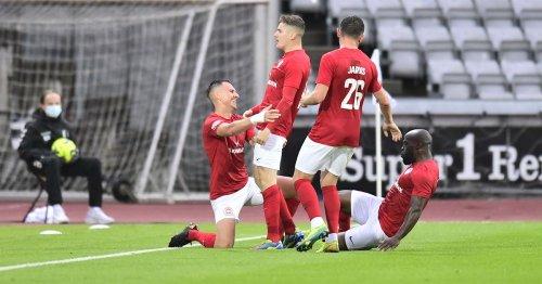 Randers FC 'sending beer' to Larne after beating Danish rivals