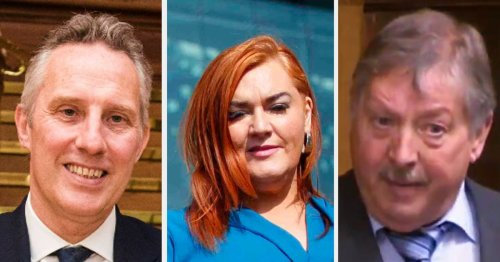 DUP MPs issue statement following 'police operation' of MEA Council
