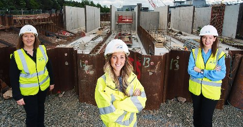 Meet the NI engineers leading the way in a male-dominated industry