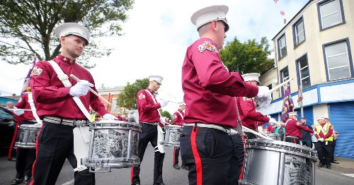 Belfast diversions in place for planned parades