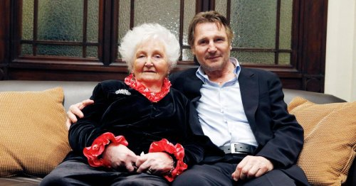 Liam Neeson on losing mum during lockdown and new film plans