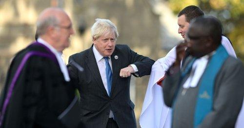 Boris Johnson among 150 guests to mark NI formation at centenary service