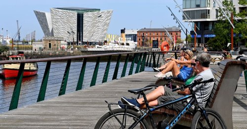 Belfast weather forecast this weekend predicts some warm and sunny moments