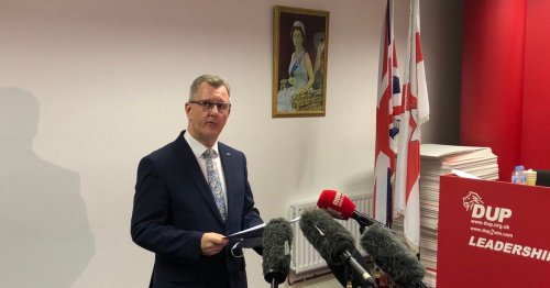 Sir Jeffery Donaldson confirms he will stand for DUP leader