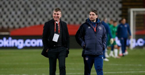 Stephen Kenny gives scout Ruaidhri Higgins his blessing on taking Derry City job