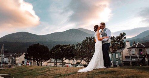 See inside NI couple's beautiful wedding day in Newcastle