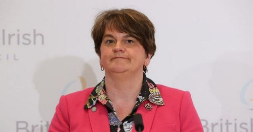 Arlene Foster says people who share online abuse should be held accountable