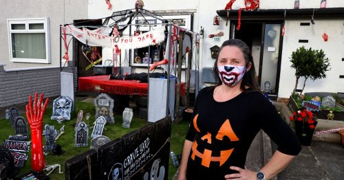 In pictures: Rathcoole mum turns house into spooky scene to spread Halloween fun